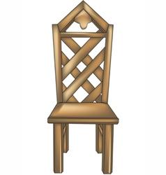 designer chair2 vector image vector image
