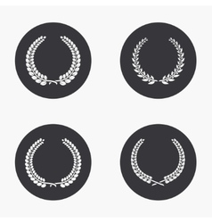 modern quality icons set vector image vector image