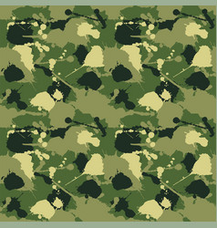 Seamless background of a camouflage vector