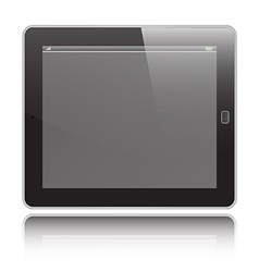 Tablet horizontal vector image vector image