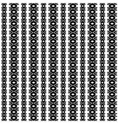 Tribal geometric pattern vector image