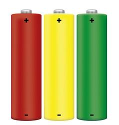 Alkaline Batteries vector image vector image