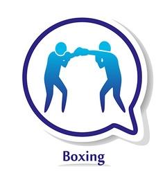 BoxingB vector image