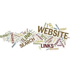 The best way to market your website text vector