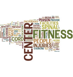 The best way to prevent spinal cord injuries text vector
