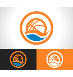 Basketball Logo Icon vector image