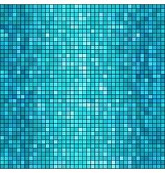 blue mosaic background vector image