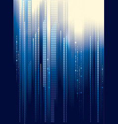 City abstract background vector image vector image