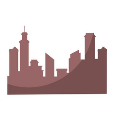 City background symbol vector