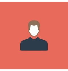 Male avatar profile picture - vector image
