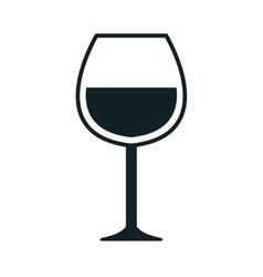 Wine theme design isolated flat icon vector image