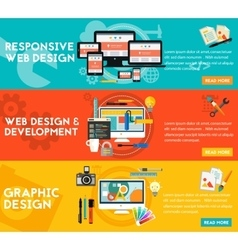 Graphic design  responsive webdesign and vector