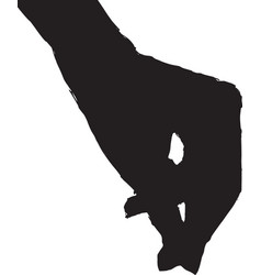 hand of woman vector image