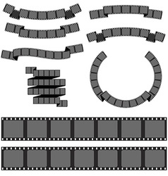 Negative filmstrip media filmstrip vector