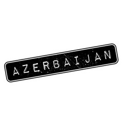Azerbaijan rubber stamp vector