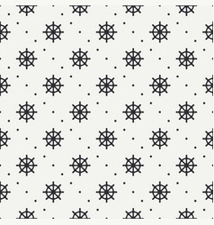 Geometric nautical seamless background pattern vector