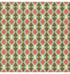 Geometric Retro Pattern vector image vector image
