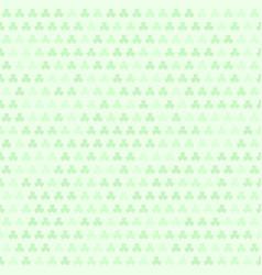 green shamrock pattern seamless vector image
