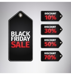 Black friday sale tag easy editable eps 10 vector