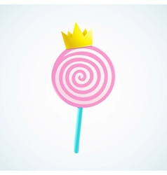 king candy vector image