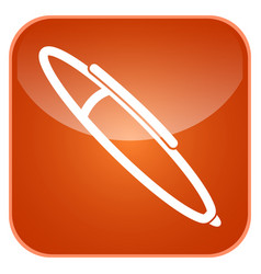 pen app icon vector image