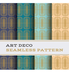 Art deco seamless pattern 13 vector