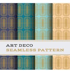 Art deco seamless pattern 13 vector