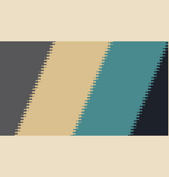 Background with diagonal lines and glitch effect vector