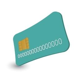 Cash card cartoon vector