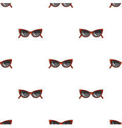 Sunglasses for protection from the sunsummer rest vector