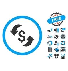 Update cost flat icon with bonus vector