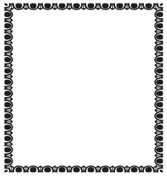 border frame2 vector image