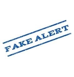 Fake alert watermark stamp vector
