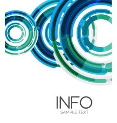 Futuristic design elements hi-tech layout vector image
