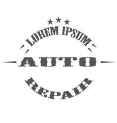 Auto repair garage logos and pictures vector