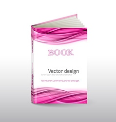 Book cover vector