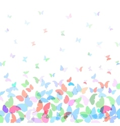 Card design colorful spring background with vector