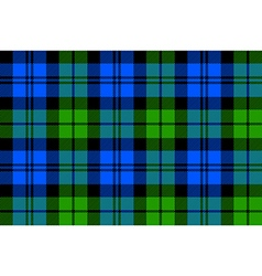 Black watch milytary tartan seamless background vector
