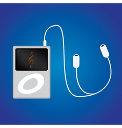 Ipod music vector image vector image