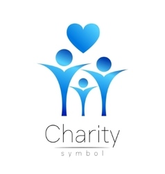 Symbol of CharitySign people vector image