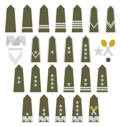 Polish army insignia vector