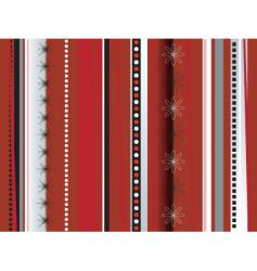 wrapping paper red vector image
