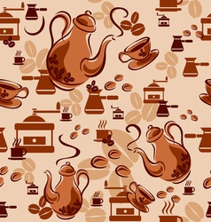 Coffee background vector