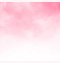abstract pink watercolor textured background vector image vector image