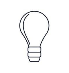bulb light electricity creativity idea concept vector image vector image