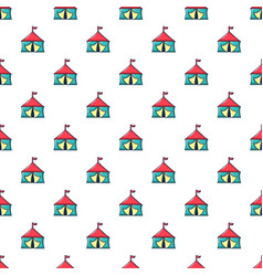 Circus tent pattern seamless vector