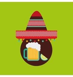 Mexican culture design vector