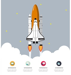 Modern infographic for business startup vector