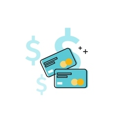 Global money transfer vector