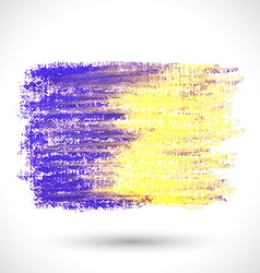 Colorful pastel brush vector